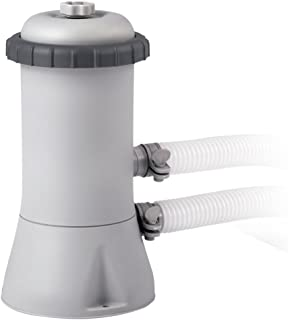 Intex 28604 - Depuradora cartucho tipo A Krystal Clear 2.006 litros/hora 1,7m3/h, gris