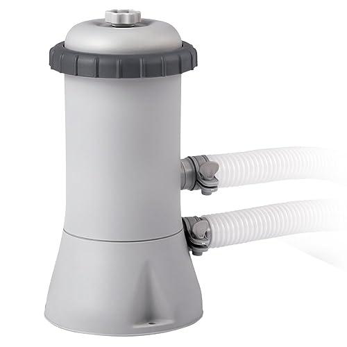 Intex 28604 - Depuradora cartucho tipo A Krystal Clear 2.006 litros/hora