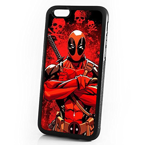 (For iPhone 8/iPhone 7) Durable Protective Soft Back Case Phone Cover - A11287 Deadpool Ninja