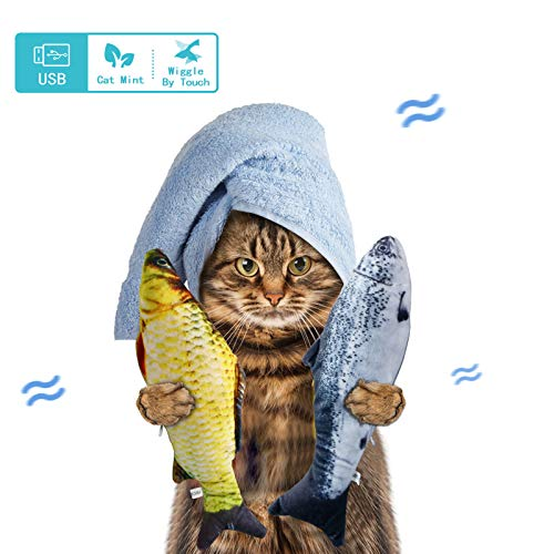 (70% OFF) 2 Pack Catnip Moving Fish Toys $9.99 – Coupon Code