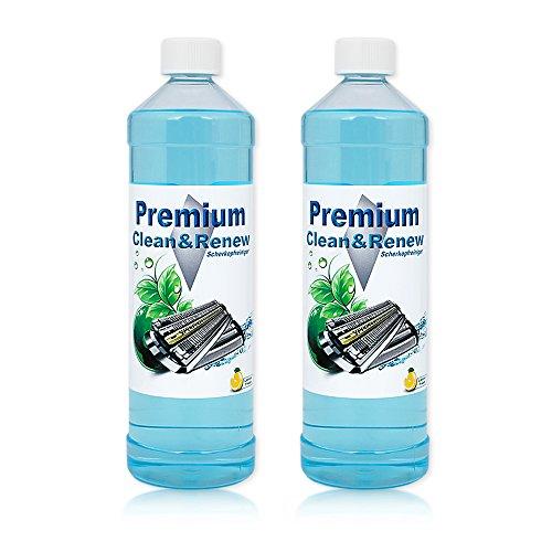 2 Liter Premium Scherkopfreiniger zum Nachfüllen von original Braun Kartuschen