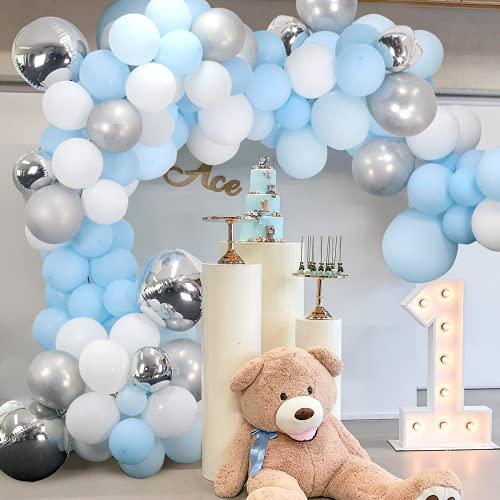 1st Birthday Balloons Garland