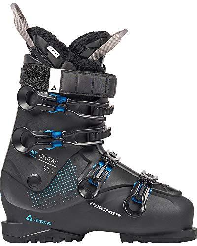 Fischer Unisex - volwassenen, 23,5 dames skischoenen MY CRUZAR 90 PBV, zwart, 24.5, 245