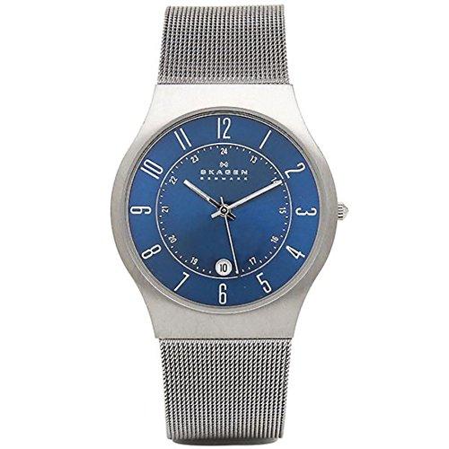 スカーゲン ユニセックス腕時計 チタニウム 233XLTTN [並行輸入品]