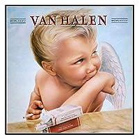 dubdubd 1984年ヴァンヘイレンハードロックバンドアルバムカバーアートポスター絵画プリントリビングルーム家の装飾-60X60CMフレームなし1個