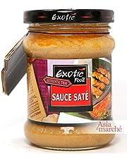 Salsa satay Cocina tailandesa leche de coco / cacahuetes listos para usar 200g