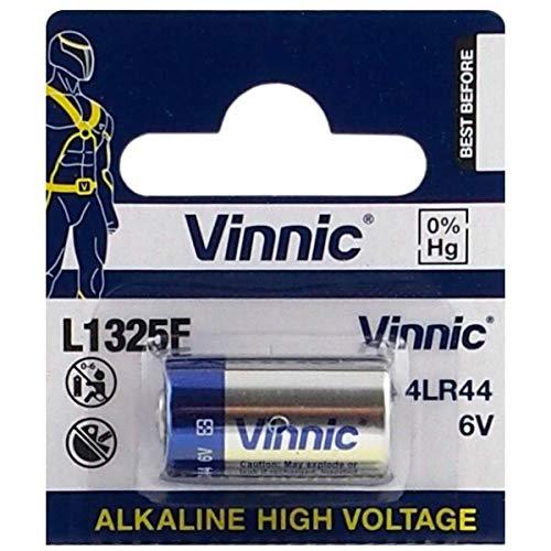 One (1) x Vinnic 476 A 4LR44 A544 V403PX PX28A pila alcalina 6 V - usarse en timbres, Toys, incluye de perro, cámaras, mecheros, y muchas otras aplicaciones