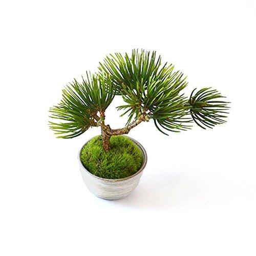CUPBON松吹き流しぐいのみ御本手ミニ盆栽造花フェイクグリーン