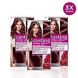 L'Oréal Casting Crème Gloss 550 Mahogany Brown Semi Permanent Hair...