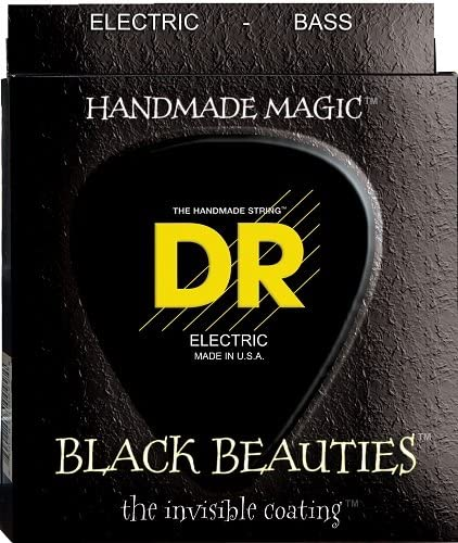 DR Strings BKB-50 Black 2021 Bass Heavy Beauty Clearance SALE Limited time