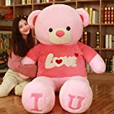 Hug 'n' Feel Teddy Bear Soft Toy | Birthday Gift for Girls/Wife, Love Gifts for Girlfriend/Boyfriend, Soft Toys Wedding/Anniversary Gift for Couple Special, Baby Toys Gift Items, Extra Large (White )