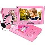 Lecteur DVD Portable FUNAVO (9.5, Rose)