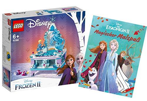Collectix 41168 Lego Disney Frozen 2 Elsas - Joyero con diseño de Frozen