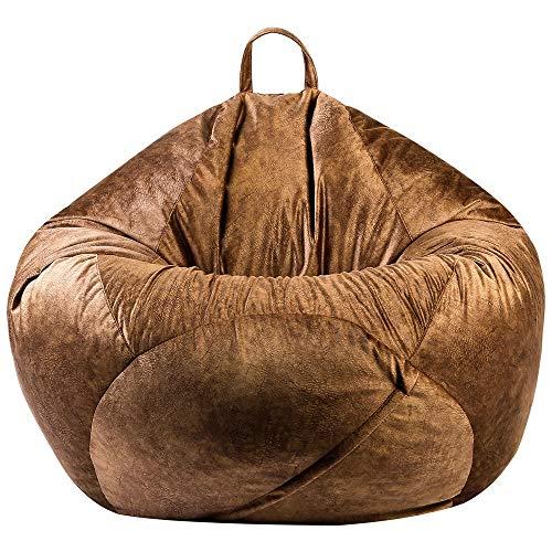 Chaise de Sac de Haricots Confortable Chaise généreuse canapés de Paresseux Couverture chaises sans Remplissage en Tissu en Peluche Lounger Sac Sac Sac Pouf Capchable for Salon for Salon