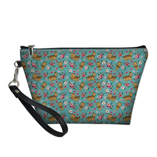 HUGS IDEA Y-H8505Z8, Borsa a mano donna verde Yorkshire Terrier S