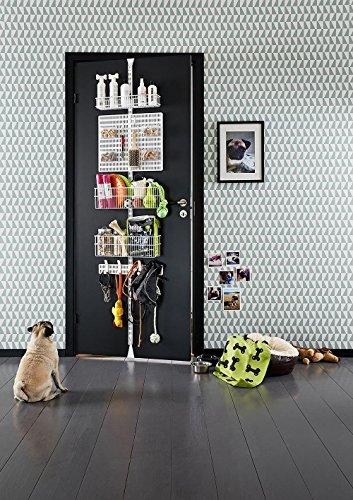Elfa Door Wall Rack - Doggy Daycare (Platinum)