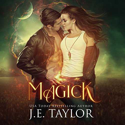 Magick audiobook cover art