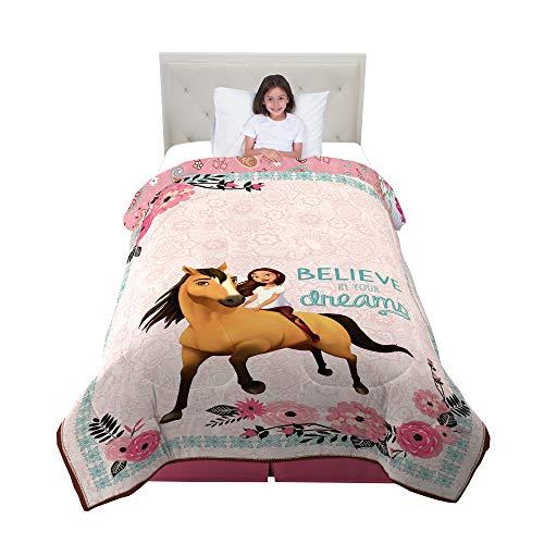 Dreamworks Spirit Riding Free Giddy up Twin Comforter