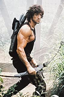 Sylvester Stallone Rambo:first Blood Part II 18x24 Poster