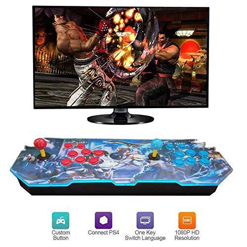 Hplights 3D Pandora's Box Home Arcade Game Console, 4000 Classic-Spiele Joystick Spielkonsole, Kundenbezogene Schaltflächen, 1280x720 Full HD, Unterstützt PS3, HDMI und VGA Ausgang, GM093