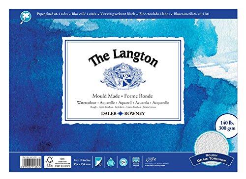 Daler Rowney Langton de 14in x 10in smagtron (cada)