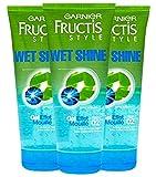 Garnier Fructis Wet Shine Effect Hair Gel, 6.8 oz. (Pack Of 3)