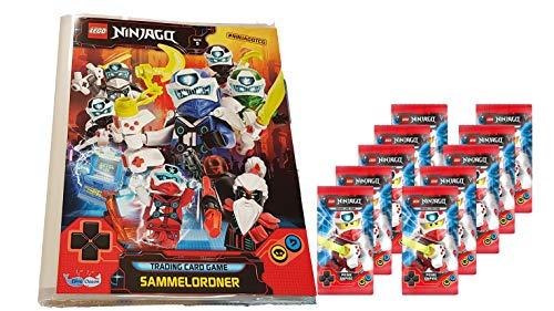 Blue Ocean Lego Ninjago - Serie 5 Trading Cards - 1 Leere Sammelmappe + 10 Booster