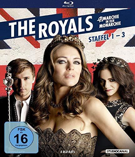 The Royals - Staffel 1-3 [Blu-ray]