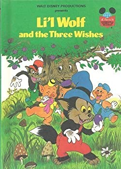 Li'l Wolf and the Three Wishes - Book  of the Disney's Wonderful World of Reading