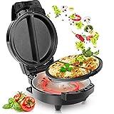 Duronic OM60 Máquina para Hacer Tortillas francesas de Forma rápida - Dos Placas de cocción Removibles - Ideal para cocinar de Forma rápida Tortillas, gofres, Tostadas