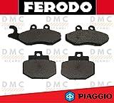 KIT PASTIGLIE PASTICCHE FRENO FERODO PIAGGIO VESPA GTS 125 - VESPA GTS 150 - VESPA GTS 250 - VESPA GTS 300 FDB2142 - FDB2115