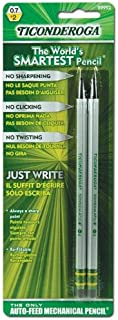 Ticonderoga 99992 .7 Mm Mechanical Pencil 2 Count (Pack of 6)