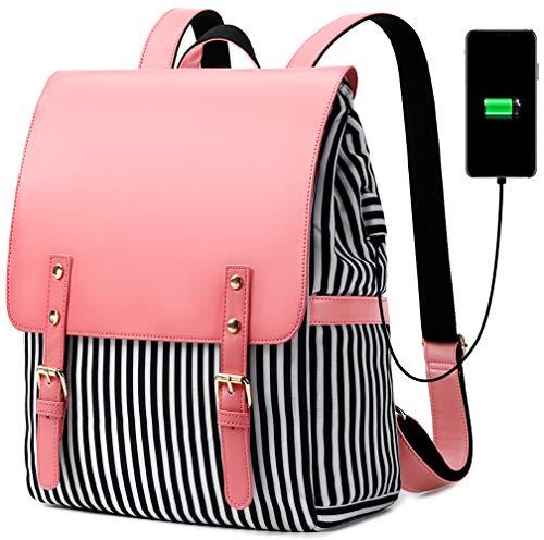 BLUBOON Laptop Backpack WomenGirls School College Bookbag Travel Daypack