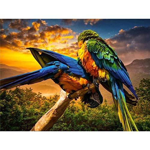 QRKJ 5000 Stück Erwachsenen Puzzle Holzpuzzle Happy Bird herausforderndes Puzzle großes Puzzle Unterhaltung...