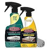 Weiman Granite Sealer and Cleaner and Polish (Microfiber Cloth) for Granite Countertops