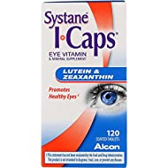 Alcon I-Caps Lutein & Zeaxanthin, Tablets - 120 count bottle