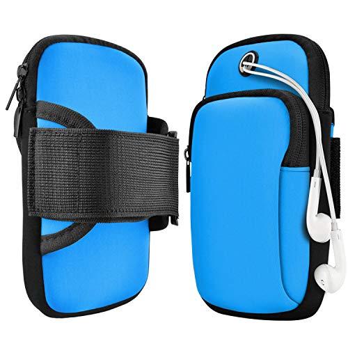 Sport Armband,Armband Handy,Armtasche,Jogging,ArmJoggingTasche, Smartphone Laufen Sportarmband Schlüssel Halter für Handy Bis zu 7,0