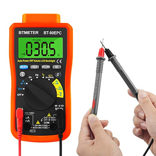 BTMETER Multimeter- Best Contact Voltage Tester