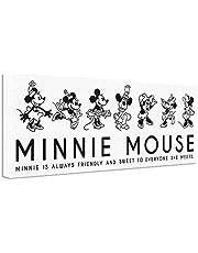 ディズニー ポスター ミニーマウス 30cm × 78.5cm 日本製 dsny-w-1710-03
