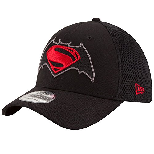 New Era Herren Flexfitted Cap Super Neo Batman schwarz S/M