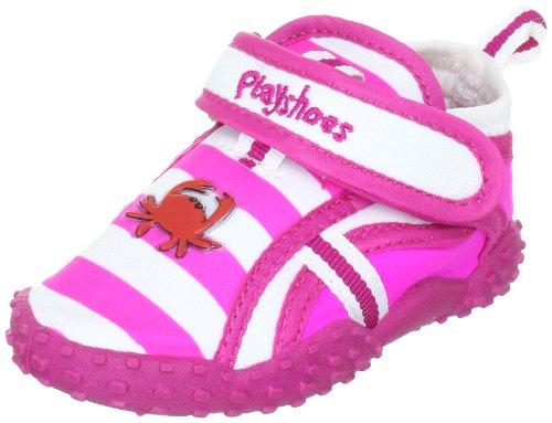 Playshoes Mädchen UV-Badeschuhe Geschlossene Sandalen, Pink (original 900), 32/33 EU