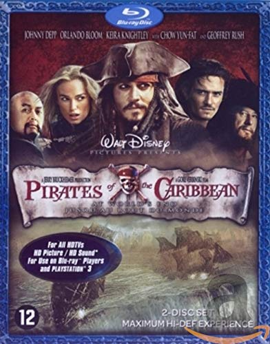 Pirates des Caraibes 3 : Jusqu'au bout du monde [Blu-ray]