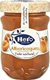 Hero Confitura Extra de Albaricoque Todo Natural - Paquete de 8 x 345 gr - Total: 2760 gr