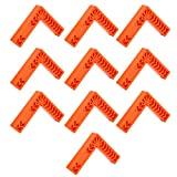 Squadre di Posizionamento, squadrette angolari in plastica Piccole e Leggere da 90 Gradi 10 Pezzi 6 Pollici per la misurazione dell'angolo