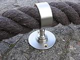 Gepotex níquel para 40 mm pasamanos de cuerda