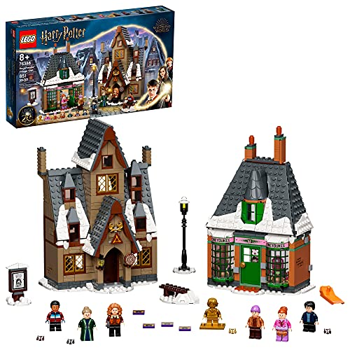 LEGO Harry Potter Hogsmeade Village Visit 76388 Building Kit with Honeydukes Store and The Three Broomsticks Pub; New 2021 (851 Pieces)