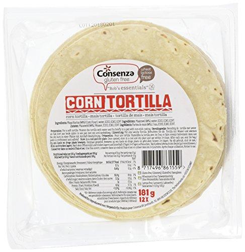 Consenza Mais Tortilla's Glutenfrei (1 x 181 g)