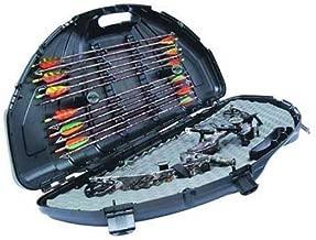 Flambeau Outdoors Compound Bow Case Sleek Black Finish 4 Locking Points 6461SC