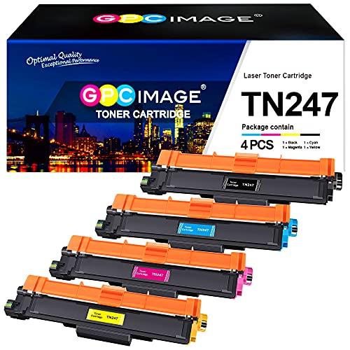 GPC Image TN247 TN243 Toner Kompatibel für Brother TN-247 TN-243 tn-243cmyk für Brother MFC-L3750CDW DCP-L3550CDW MFC-L3770CDW MFC-L3730CDN HL-L3210CW HL-L3230CDW MFC-L3710CW DCP-L3510CDW HL-L3270CDW