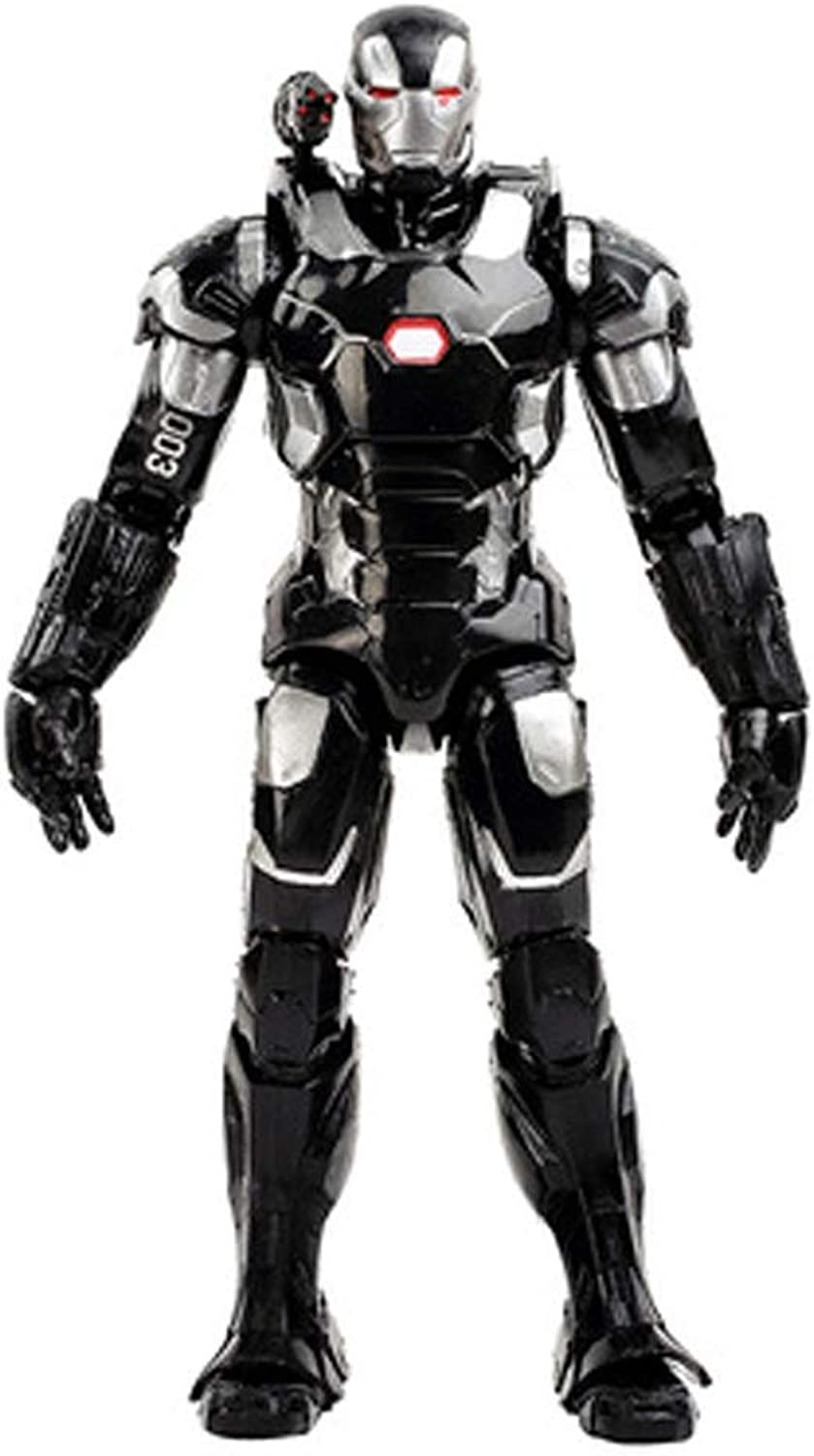 Toys  Marvel Toys  DC Toys  Avengers 3 4 Joint Detachable  Spiderman   Superman   Panther   Iron Man   Captain America ( color   G )